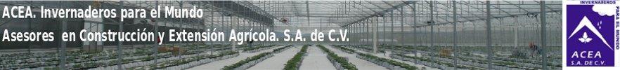 ACEA. Invernaderos